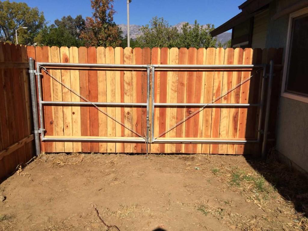 Metal Frame Gate