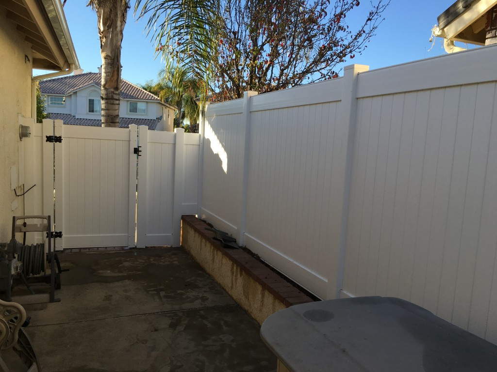 Vinyl Gate and Fence
